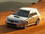 Subaru Impreza WRX Sport Wagon (GGA) 2005–07 images