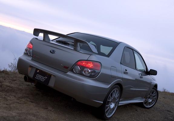 Subaru Impreza Sti S204 2006 Wallpapers