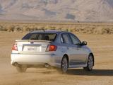 Subaru Impreza WRX Sedan US-spec 2007–10 images