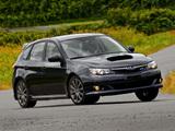 Subaru Impreza WRX Hatchback 2007–10 wallpapers