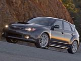 Subaru Impreza WRX STi US-spec (GRB) 2008–10 pictures