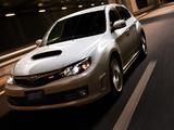 Subaru Impreza WRX STi A-Line (GRF) 2009–10 wallpapers