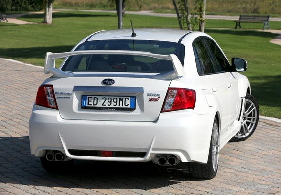 Subaru Impreza Wrx Sti Sedan 2010 Photos