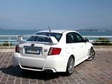 Subaru Impreza WRX STi Sedan 2010 wallpapers