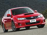 Subaru Impreza WRX Sedan AU-spec (GE) 2010 wallpapers