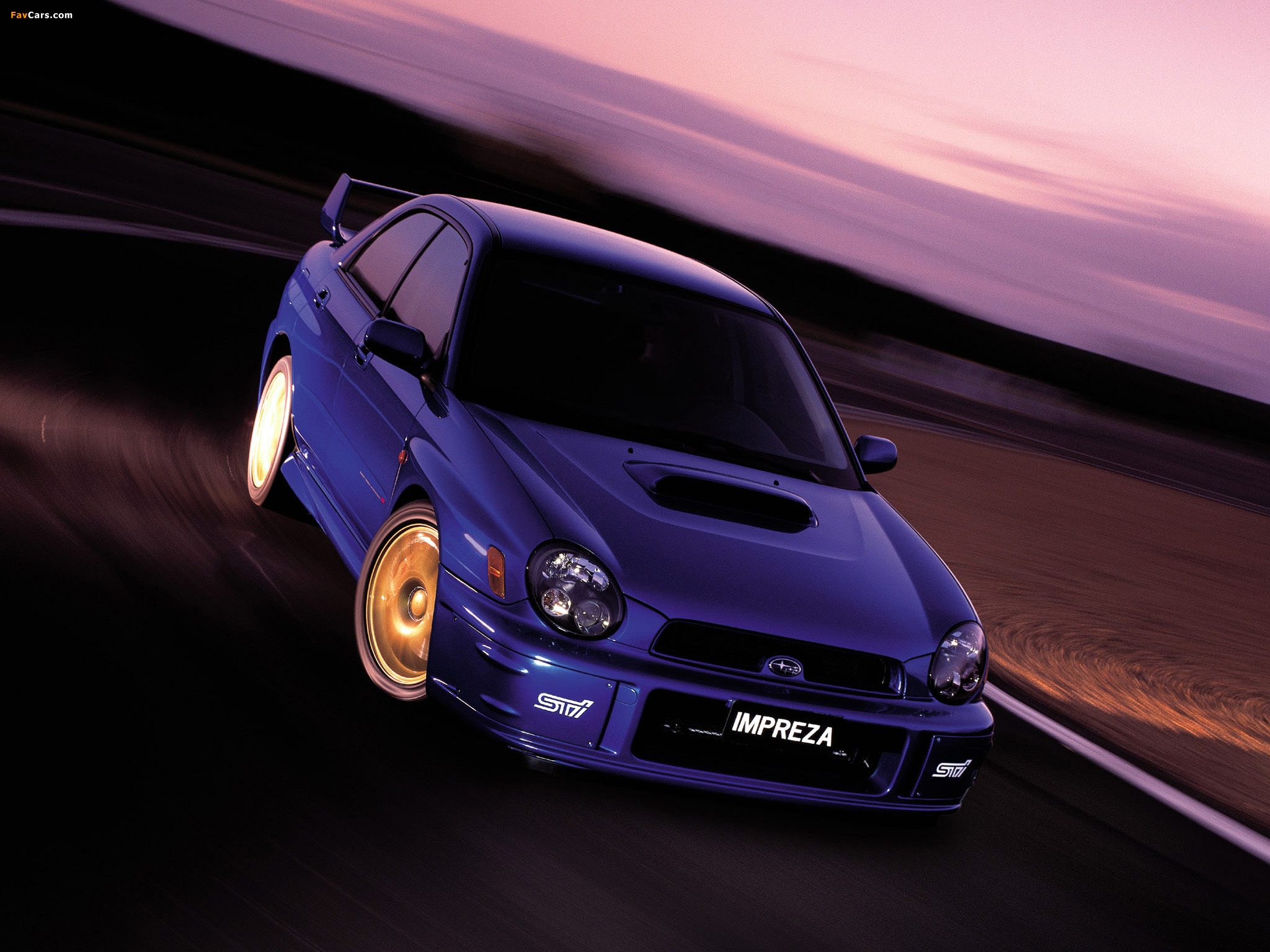 Subaru Impreza Wrx Sti 2001 02 Wallpapers 2048x1536