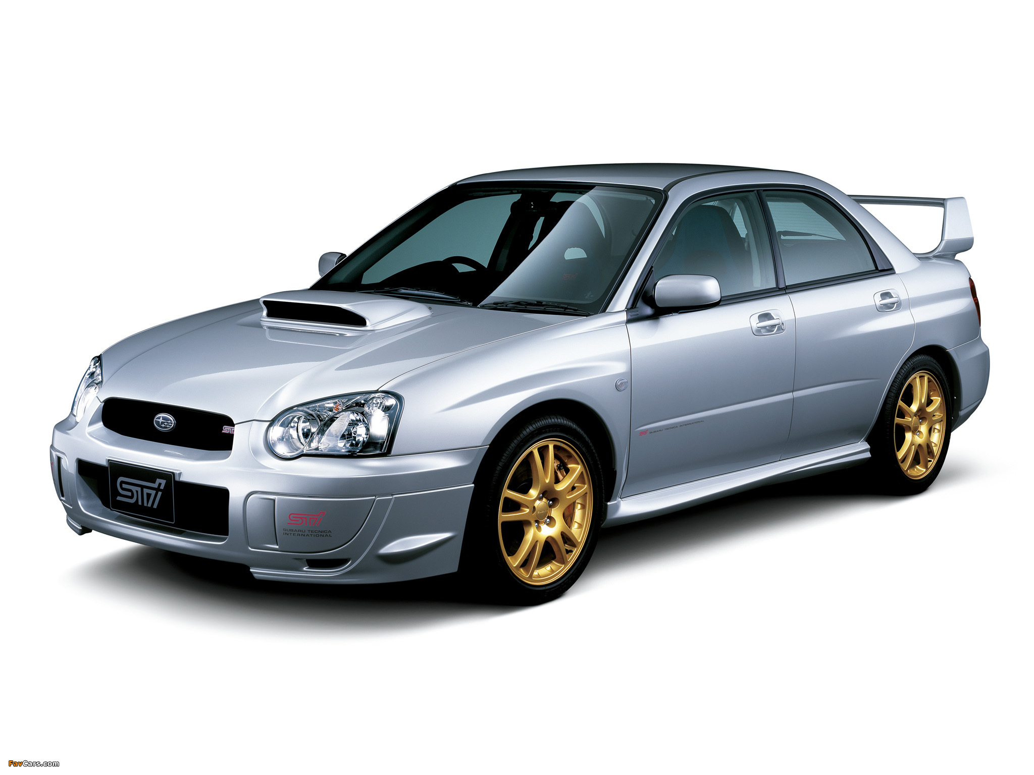 subaru impreza wrx sti 2003 05 pictures 2048x1536. Black Bedroom Furniture Sets. Home Design Ideas