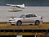 Subaru Impreza WRX Sedan US-spec 2007–10 photos