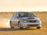 Subaru Impreza WRX Sedan US-spec 2007–10 pictures