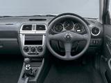 Subaru Impreza WRX STi Spec C Type RA (GDB) 2001 wallpapers