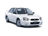 Subaru Impreza WRX STi Spec C (GDB) 2003–05 wallpapers