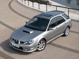 Subaru Impreza WRX Sport Wagon (GGA) 2005–07 wallpapers