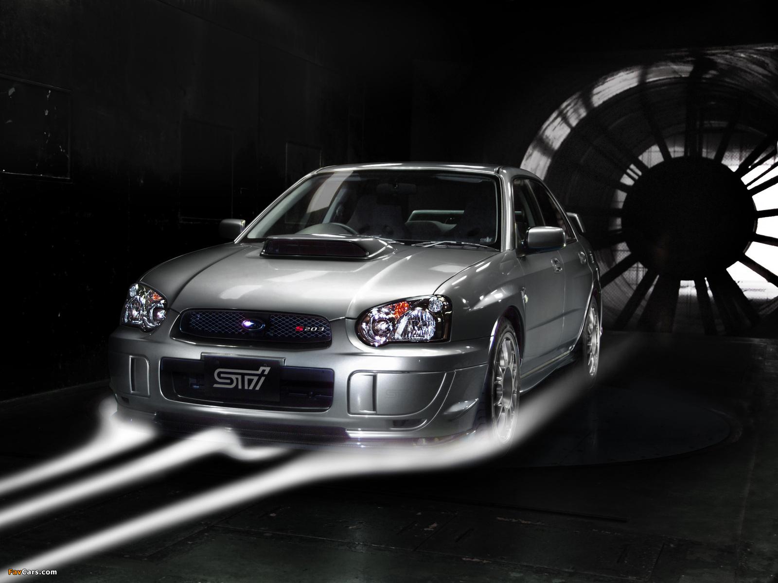 Subaru Impreza Sti S203 Gdb 2005 Wallpapers 1600x1200