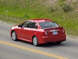 Subaru Impreza WRX Sedan US-spec 2007–10 wallpapers