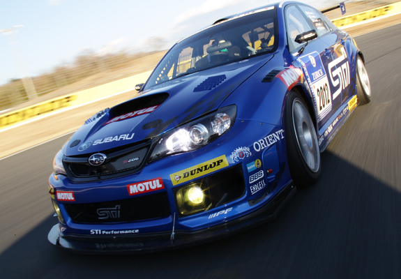 Subaru Impreza Wrx Sti Race Car Sedan 2011 Wallpapers