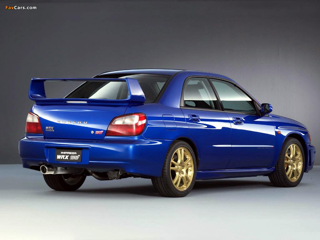 Subaru Impreza Wrx Sti 2001 02 Wallpapers