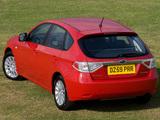 Images of Subaru Impreza Hatchback UK-spec 2007