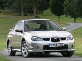Photos of Subaru Impreza UK-spec (GD) 2005–07