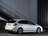 Photos of Subaru Impreza Hatchback (GP) 2011