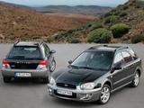 Pictures of Subaru Impreza Outback Sport (GG) 2004–05