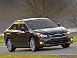 Pictures of Subaru Impreza Sedan US-spec 2011