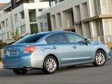 Pictures of Subaru Impreza Sedan AU-spec (GJ) 2011