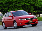 Subaru Impreza Hatchback JP-spec (GH) 2007–11 pictures