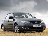 Subaru Impreza Hatchback UK-spec 2007 pictures