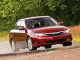 Subaru Impreza 2.5i Sedan US-spec 2010–11 wallpapers