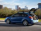 Subaru Impreza Hatchback US-spec (GP) 2011 photos