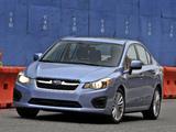 Subaru Impreza Sedan US-spec 2011 photos