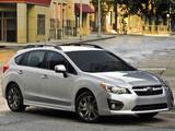 Subaru Impreza Sport Hatchback US-spec 2011 pictures