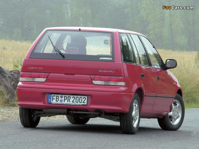 Photos of Subaru Justy 5-door 1994–2003 (640 x 480)