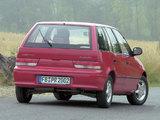 Photos of Subaru Justy 5-door 1994–2003