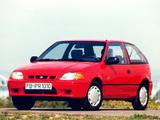Photos of Subaru Justy 3-door 1994–2003