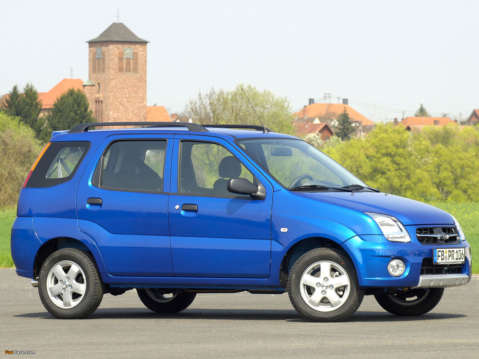 Photos of Subaru G3X Justy 2003–07 (1600 x 1200)
