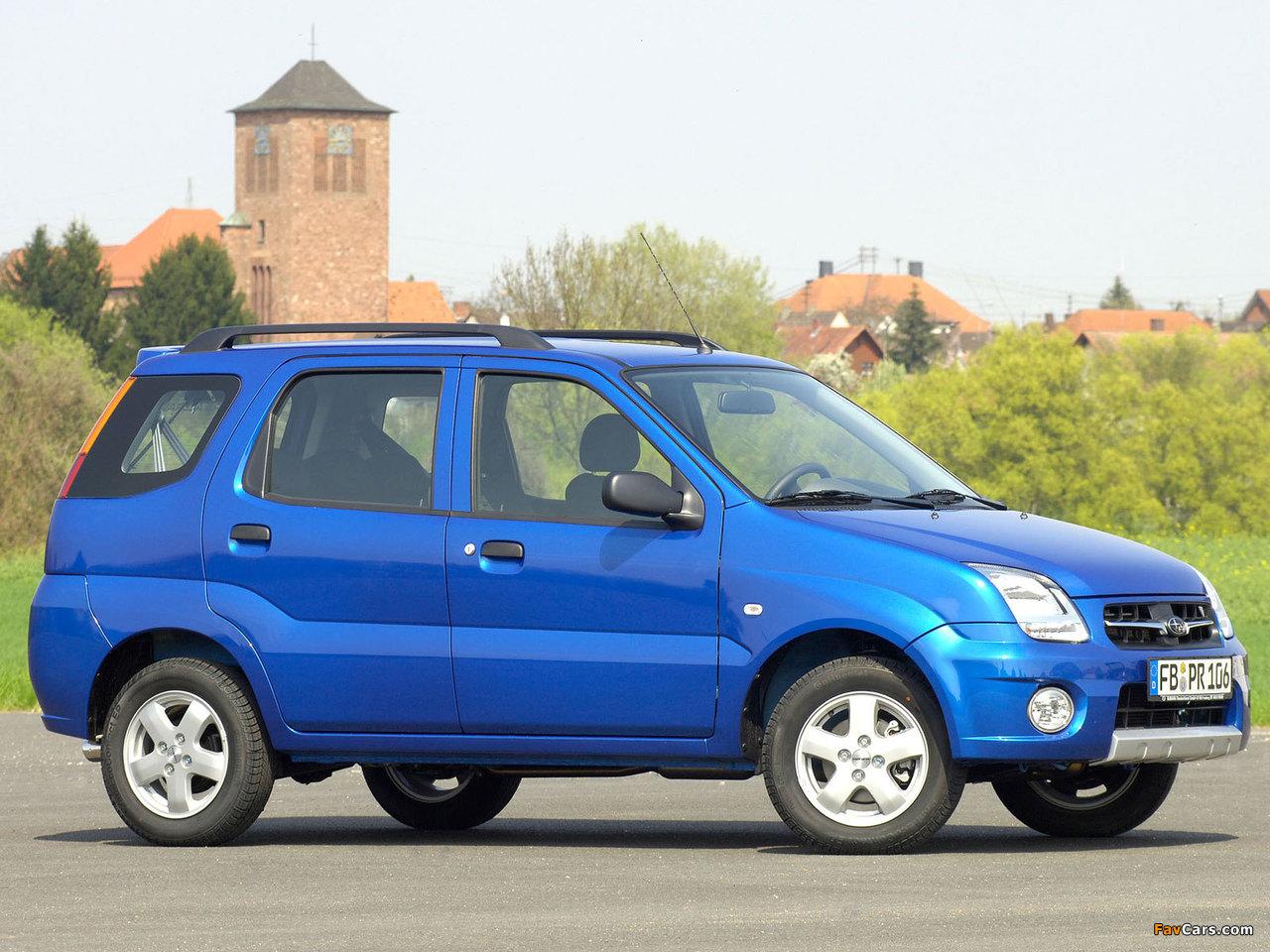 Photos of Subaru G3X Justy 2003–07 (1280 x 960)