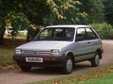 Subaru Justy 3-door UK-spec 1984–88 images