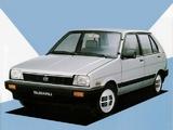 Subaru Justy 5-door 1984–88 wallpapers