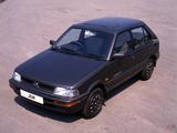 Subaru Justy 5-door UK-spec (KA) 1988–94 photos