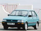 Subaru Justy 5-door 1988–94 pictures