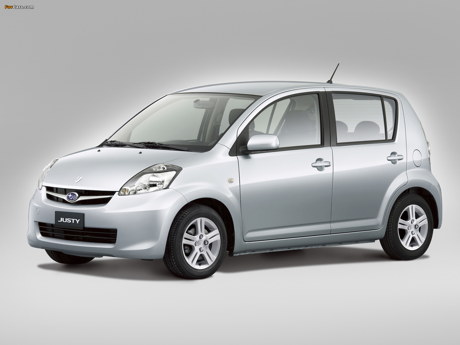 Subaru Justy 2007 pictures (1600 x 1200)