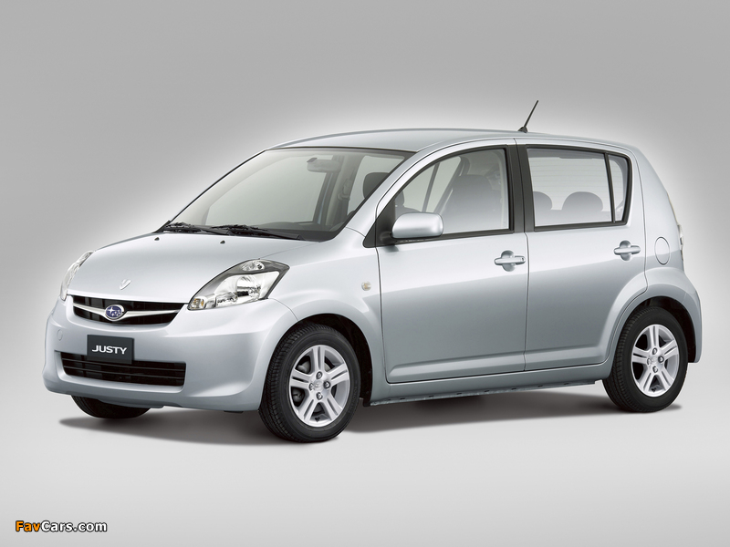 Subaru Justy 2007 pictures (800 x 600)