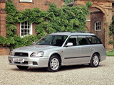 Images of Subaru Legacy Touring Wagon UK-spec (BE,BH) 1998–2003