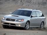 Images of Subaru Legacy Station Wagon US-spec 2003–06