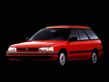 Photos of Subaru Legacy Station Wagon (BC) 1989–92