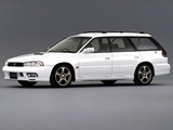 Photos of Subaru Legacy 2.0 GT-B Station Wagon (BD) 1996–98