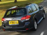 Photos of Subaru Legacy Wagon 2.0D UK-spec (BR) 2009–12