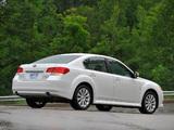Photos of Subaru Legacy 3.6R US-spec (BM) 2009–12