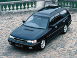 Pictures of Subaru Legacy Station Wagon (BC) 1989–92